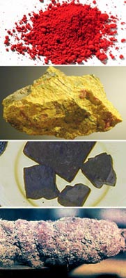Natural colorings of Lacquer