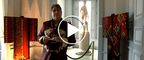 Video Treasures of Lacquer, 2015 - Rémi Maillard, lacquer artist decorator
